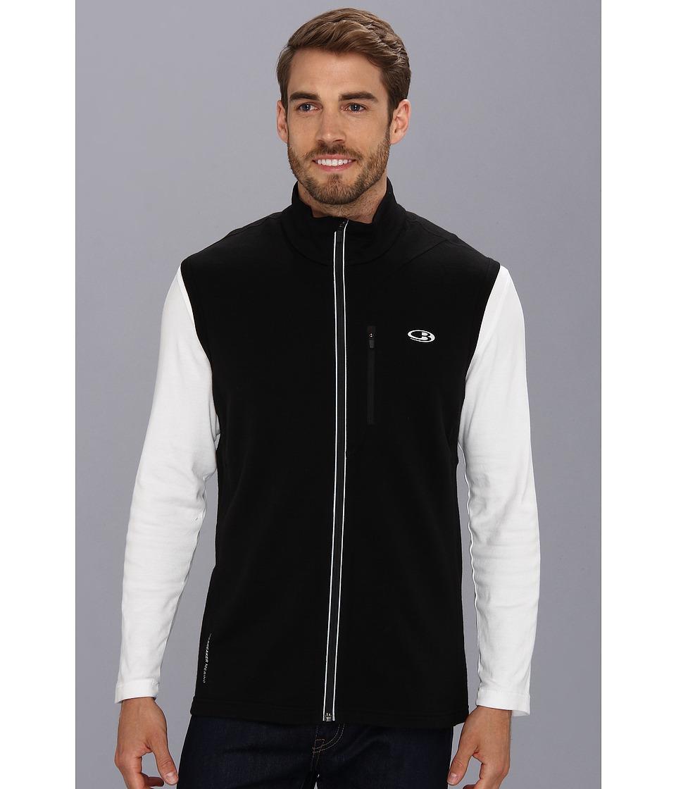Icebreaker - Quantum Vest (Black) Men's Vest