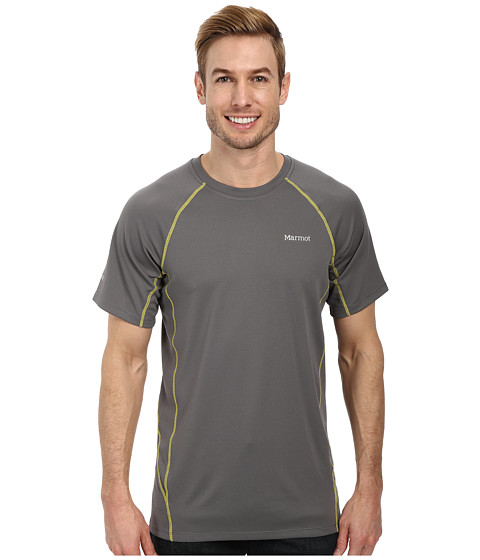 Marmot - ThermalClime Sport SS Crew (Cinder) Men's Clothing