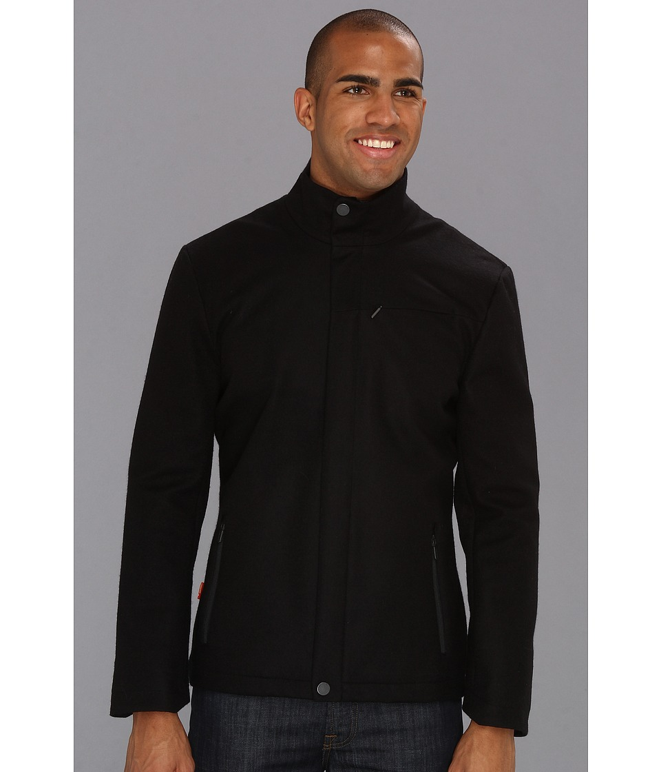 Icebreaker - Legacy Coat (Black) Men's Coat
