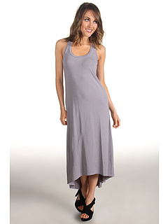 SALE! $36.99 - Save $81 on Splendid Racerback High Low Dress (Storm) Apparel - 68.65% OFF $118.00
