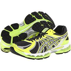 ASICS GEL-Nimbus 15 Lite-Show (Black/Reflective/Flash Yellow) Men's Running Shoes