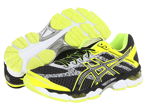 ASICS - GEL-Cumulus 15 Lite-Show (Black/Onyx/Flash Yellow) Men's Running Shoes