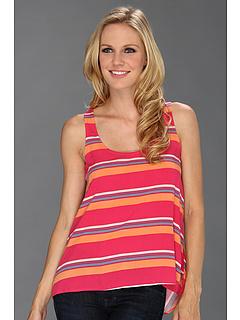 SALE! $16.99 - Save $67 on Splendid Cannes Tank (Flamingo) Apparel - 79.77% OFF $84.00