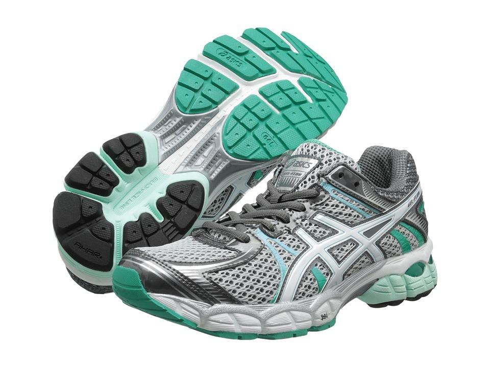 ASICS - GEL-Flux (Lightning/White/Mint) Women's Running Shoes