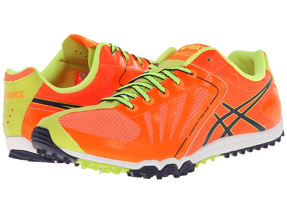 ASICS - Cross Freak (Orange Flame/Ink/Flash Yellow) Men's Running Shoes