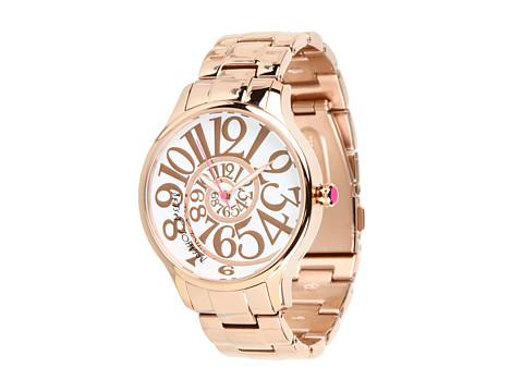Betsey Johnson - BJ00040-14 Analog Optical Dial Watch (Rose Gold) Analog Watches