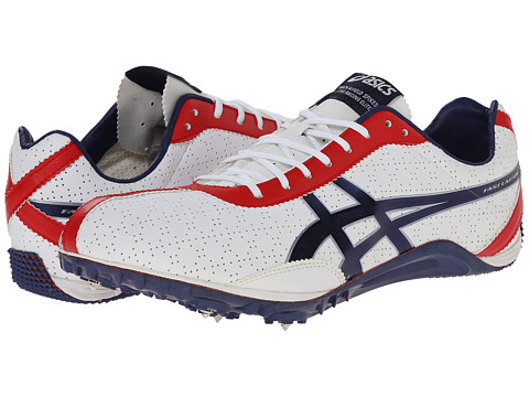 ASICS - FastLap MD (White/Navy/Silver) Men's Running Shoes