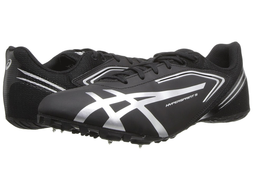 ASICS - Hypersprint 5 (Black/Silver) Men's Running Shoes