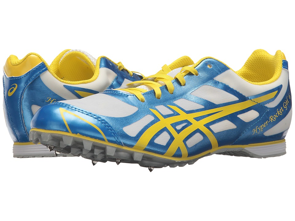 ASICS Hyper-Rocket Girltm 6 (Malibu Blue/Lemon/White) Women