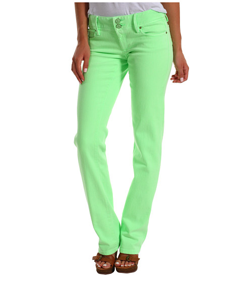 Lilly Pulitzer Worth Straight Jean (New Green) Women's Jeans
