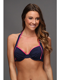 SALE! $31.99 - Save $46 on Tommy Bahama Deck Piping Underwire Full CVG Molded Cup Bra (Mare Pink Martini) Apparel - 58.99% OFF $78.00