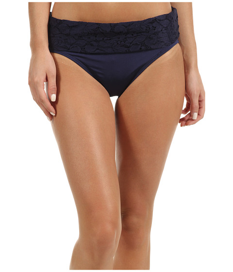 Tommy Bahama - Lace Ahoy High Waist Bottom w/ Lace Wide Band (Mare) Women