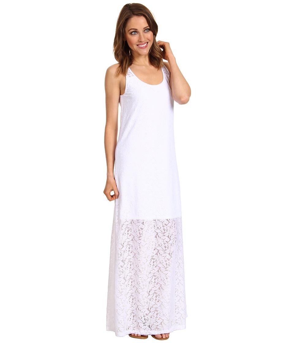 Tommy Bahama Lace Ahoy Lace Long Tank Maxi Dress Womens Dress (White)