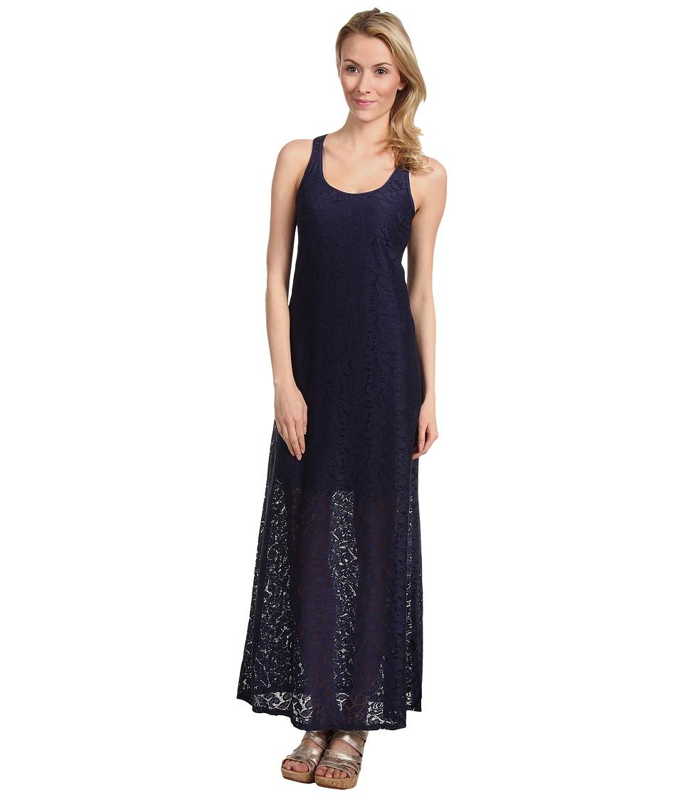 Tommy Bahama Lace Ahoy Lace Long Tank Maxi Dress Womens Dress (Brown)