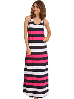 SALE! $39.99 - Save $58 on Tommy Bahama Regatta Bold Stripe Long Tank Dress Cover Up (Pink Martini Mare White) Apparel - 59.19% OFF $98.00