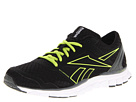 Reebok - RealFlex Speed 2.0 (Black/Rivet Grey/Sonic Green/Neon Yellow/White)