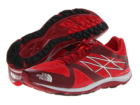 The North Face - Hyper-Track Guide (Biking Red/TNF Red) Men's Running Shoes