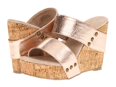 VOLATILE - Karmatic (Rose Gold) Women's Wedge Shoes