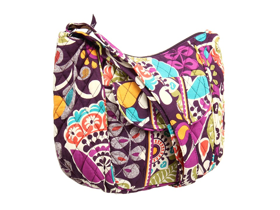 Vera Bradley - Clare (Plum Crazy) Hobo Handbags