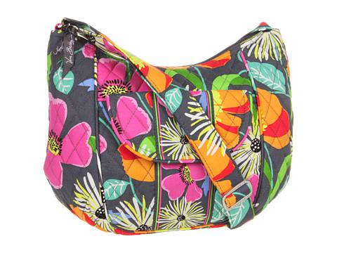Vera Bradley - Clare (Jazzy Blooms) Hobo Handbags