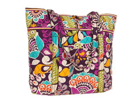 Vera Bradley - Vera (Plum Crazy) Tote Handbags