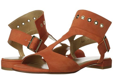 Stuart Weitzman - Cuffy (Cantaloupe Nubuck) Women's Sandals