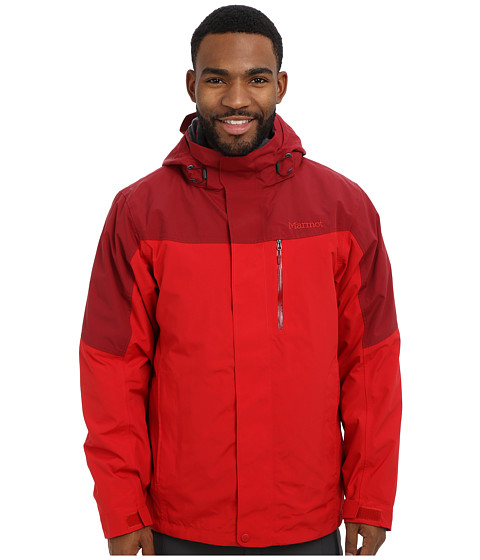 Marmot - Bastione Component Jacket (Team Red/Brick) Men's Coat