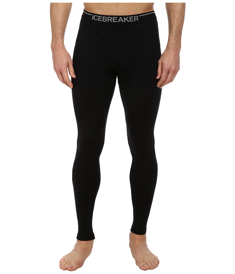 Icebreaker - Apex Legging w/ Fly (Black) Men's Outerwear