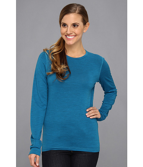Icebreaker - Oasis Long Sleeve Crewe (Cruise) Women's Long Sleeve Pullover