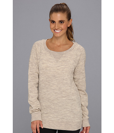 Icebreaker - Crave Long Sleeve Crewe (Fawn) Women