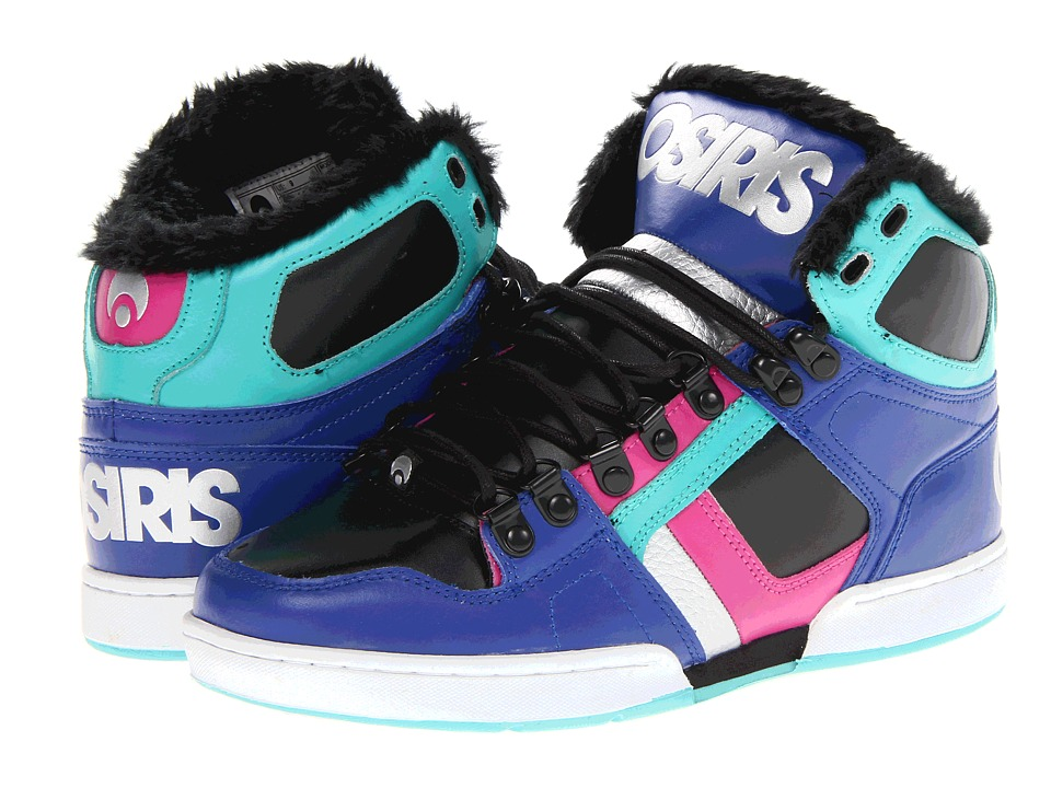 Osiris - NYC83 SHR W (Blue/Black/Teal) Women's Skate Shoes