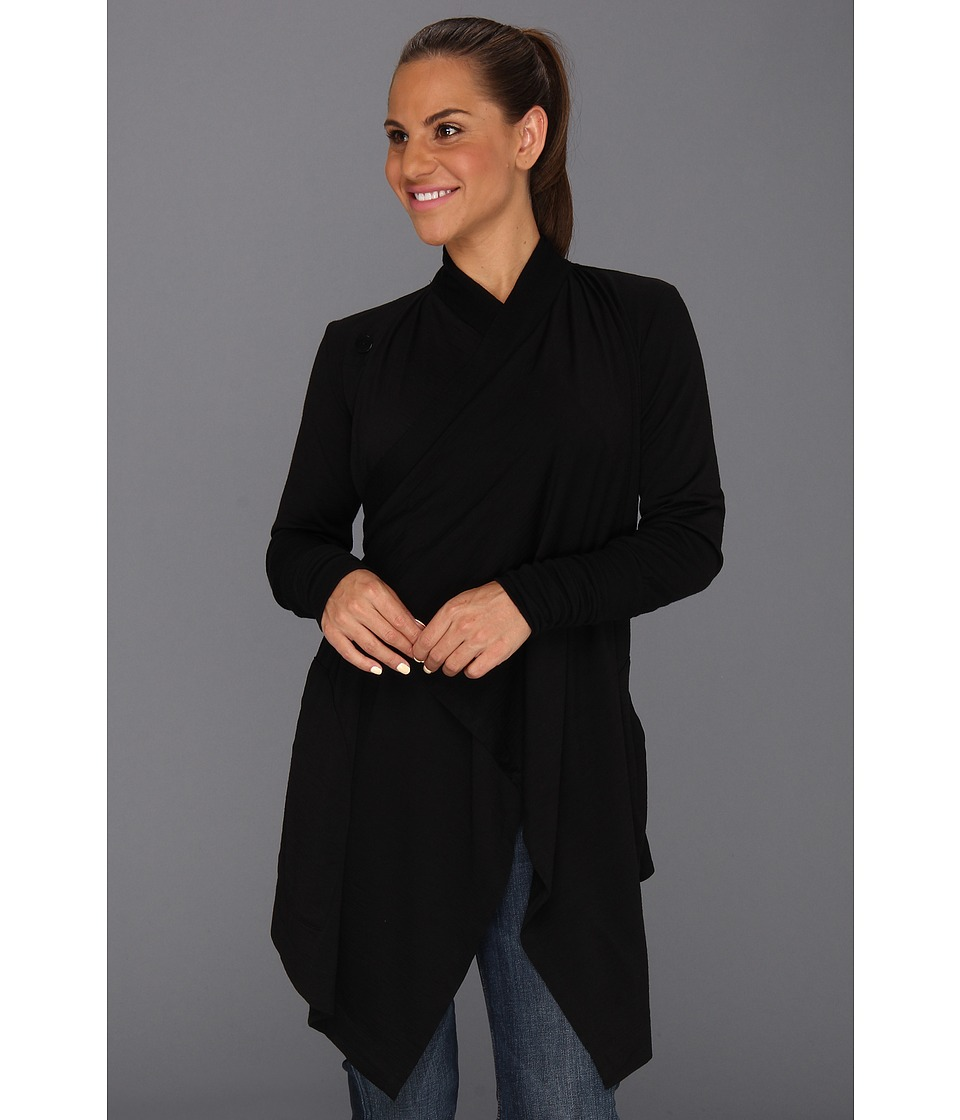 Icebreaker - Bliss Wrap (Black) Women's Sweater