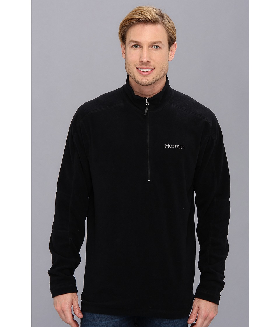 Marmot - Rocklin 1/2 Zip (Black) Men's Sweatshirt