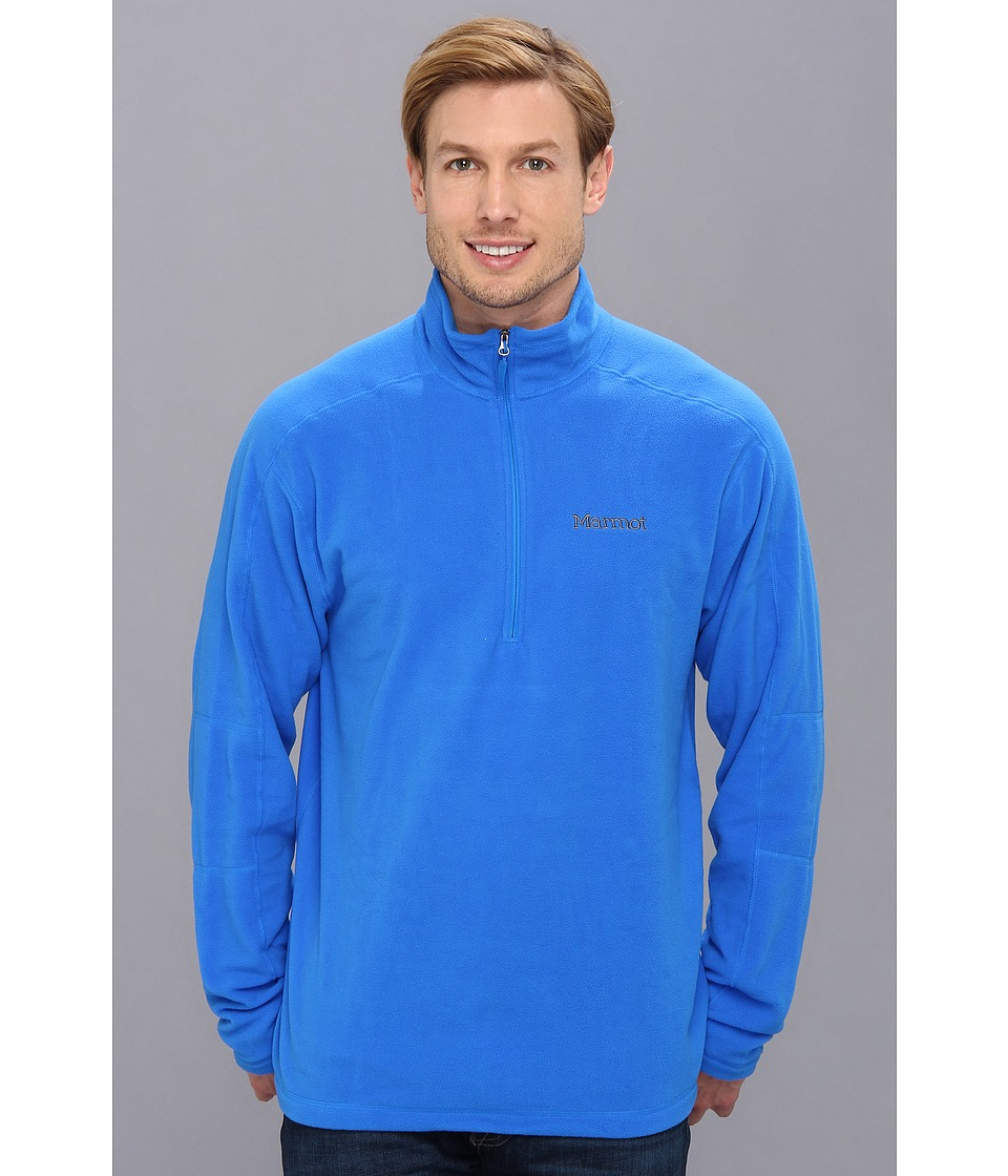 Marmot - Rocklin 1/2 Zip (Cobalt Blue) Men's Sweatshirt