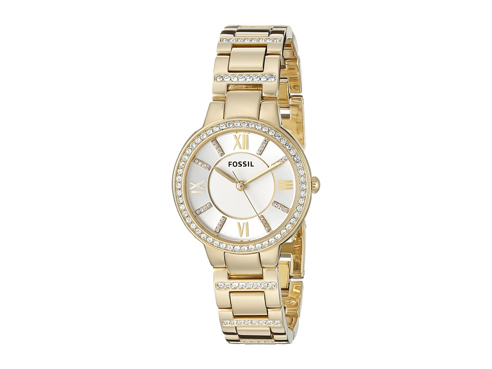 Fossil - Virginia - ES3283 (Gold) Analog Watches