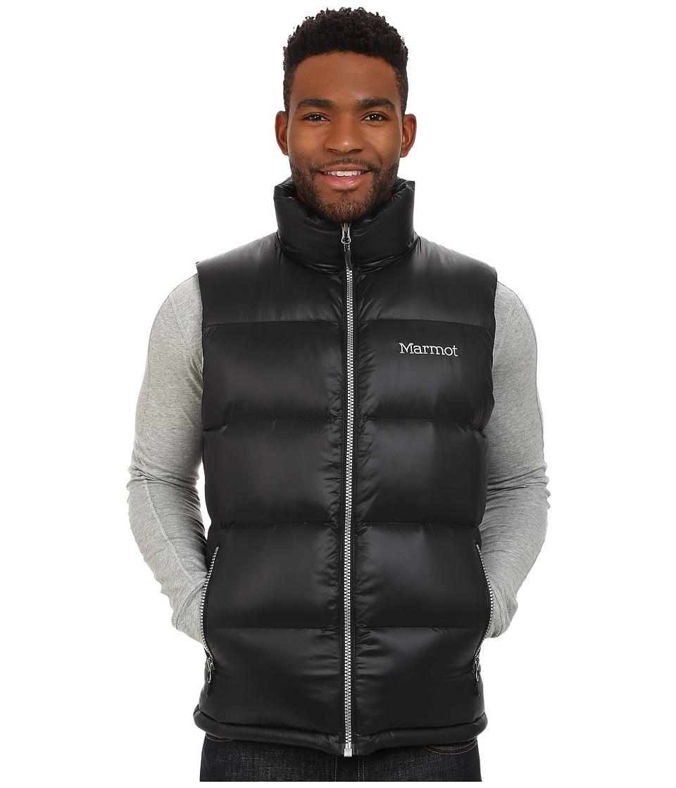 Marmot - Stockholm Vest (Black) Men's Clothing