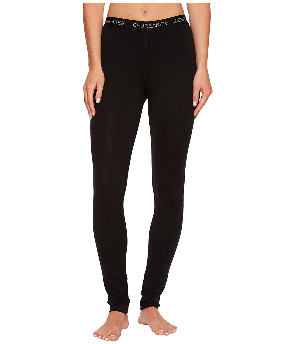 Icebreaker - Vertex Legging (Black) Women's Workout