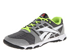 Reebok - Reebok One Trainer 1.0 (Rivet Grey/Flat Grey/White/Neon Yellow/Black/Excellent Red)