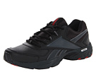 Reebok DailyCushion RS (Black/Gravel/Excellent Red) Men's Walking Shoes
