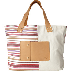 SALE! $82.99 - Save $102 on UGG Novelty Tote (Cream Sizzle Stripe) Bags and Luggage - 55.14% OFF $185.00