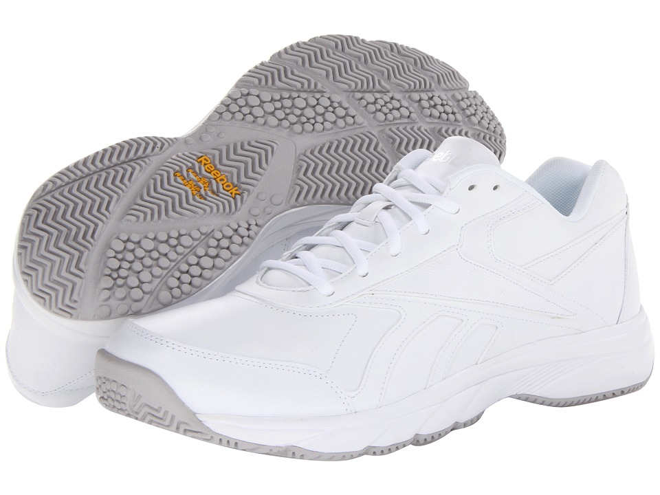 Reebok - Work 'N Cushion (White) Men's Shoes