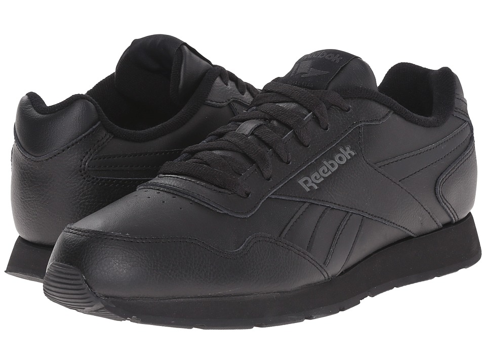 Reebok - Reebok Royal Glide (Black/Rivet Grey/Reebok Royal) Men's Shoes