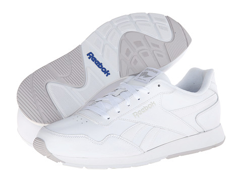 Reebok - Reebok Royal Glide (White/Steel/Reebok Royal) Men's Shoes