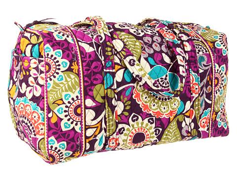 Vera Bradley - Large Duffel (Plum Crazy) Duffel Bags
