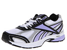 Reebok Pheehan Run (White/Silver/Black/Crisp Purple) Women's Running Shoes