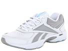 Reebok - DailyCushion RS (White/Tin Grey/Silver/Blue Blink)