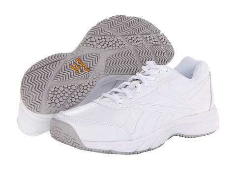 Reebok - Work 'N Cushion (White) Women's Shoes