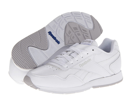 Reebok - Reebok Royal Glide (White/Steel/Reebok Royal) Women's Shoes