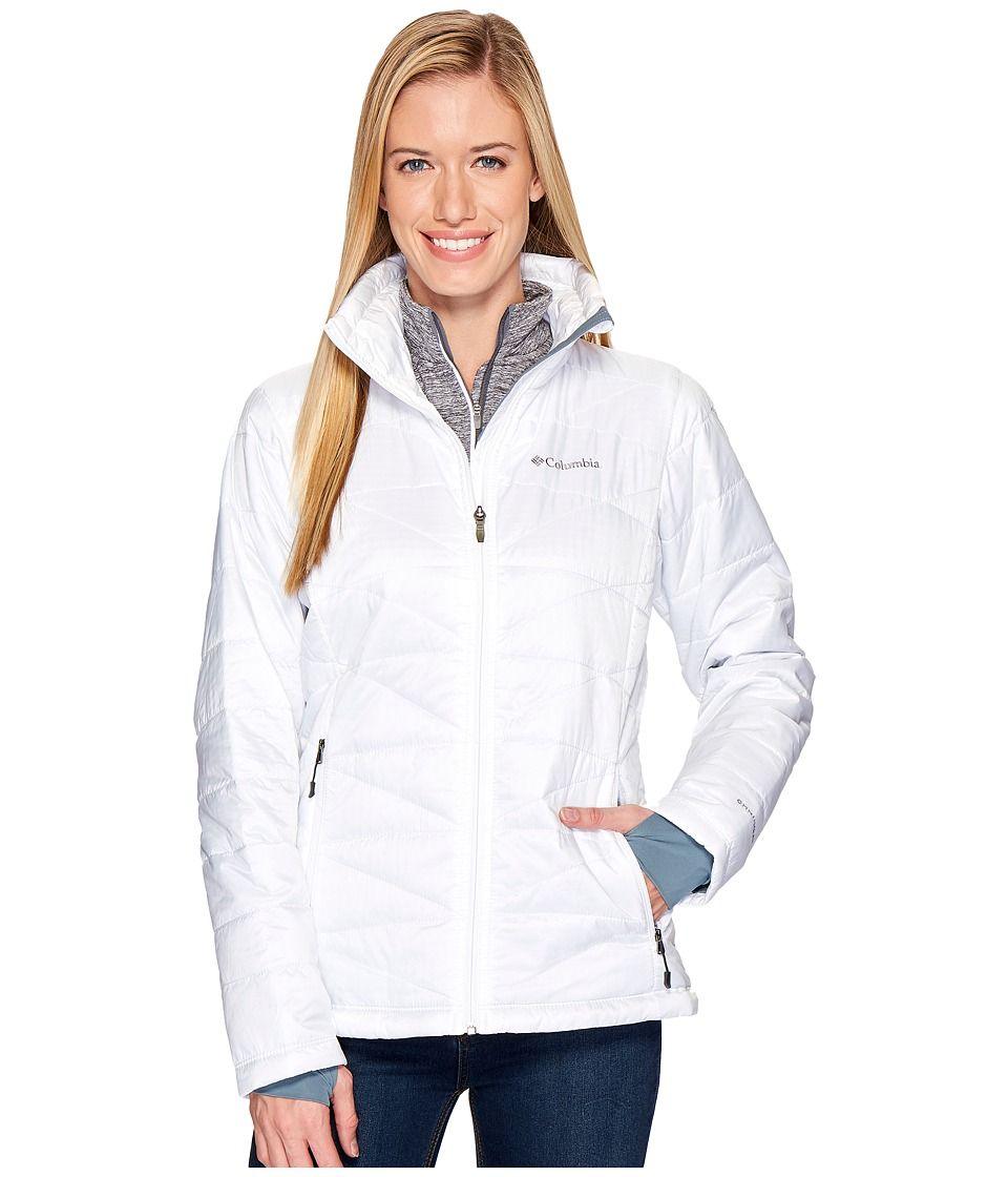 Columbia Mighty Litetm III Jacket (White) Women