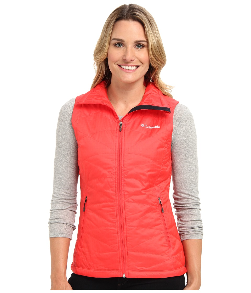 Columbia - Mighty Lite III Vest (Red Hibiscus) Women's Vest